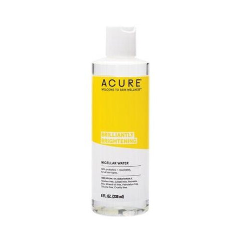 ACURE BRILLIANTLY BRIGHTENING MICELLAR WATER 118ml