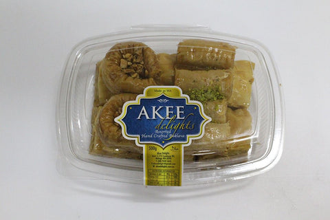 AKEE DELIGHTS ASSORTED BAKLAVA 500g