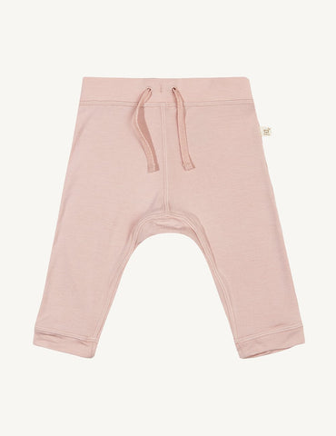 BOODY BABY PULL ON PANTS 3-6MTHS ROSE