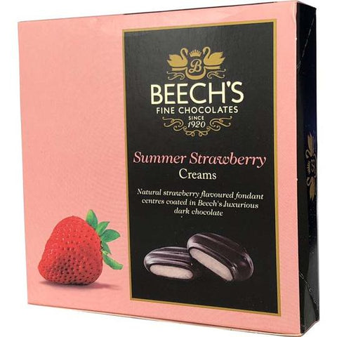BEECH'S FINE CHOCOLATES SUMMER STRAWBERRY CREAMS 90g
