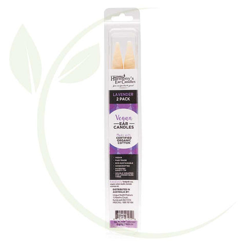 HARMONY'S EAR CANDLES - LAVENDER 2 PACK