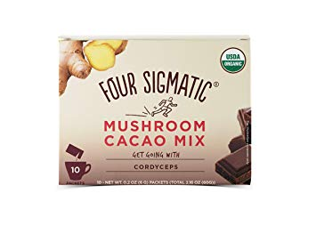 FOUR SIGMATIC MUSHROOM CACAO CORDYCEPS MIX 10 PACK