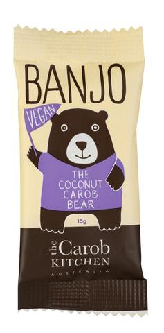 BANJO THE COCONUT CAROB BEAR VEGAN