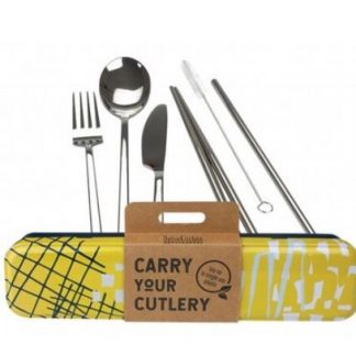 RETROKITCHEN CARRY YOUR CUTLERY SET - ABSTRACT