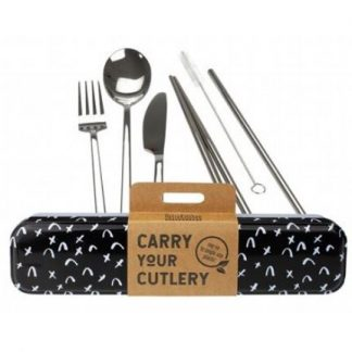 RETROKITCHEN CARRY YOUR CUTLERY SET - CRISS CROSS