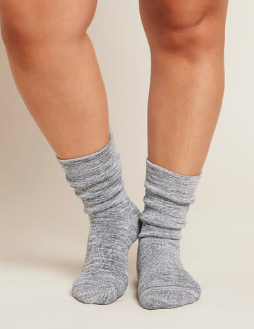 BOODY WOMEN'S CHUNKY BED SOCKS DOVE/STORM SPACE