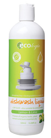 ECOLOGIC LEMON DISH LIQUID