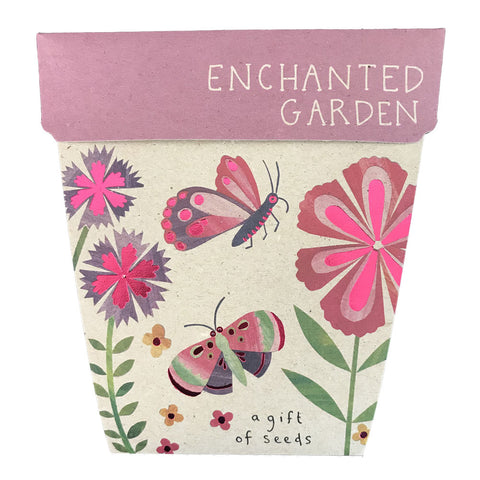 SOW 'N SOW GIFT OF SEEDS ENCHANTED GARDEN
