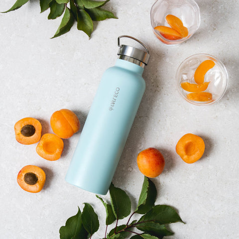 EVER ECO INSULATED DRINK BOTTLE POSITANO BLUE 750ml