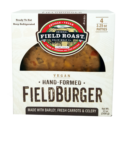 FIELD ROAST HAND FORMED BURGERS 368g