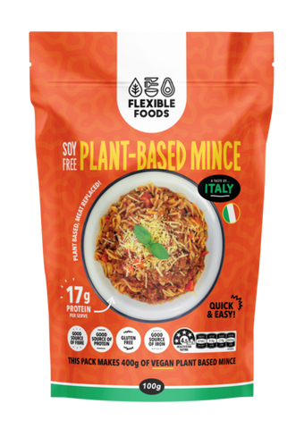 FLEXIBLE FOODS SOY FREE MINCE TASTE OF ITALY FLAVOUR