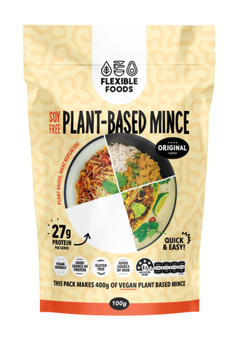 FLEXIBLE FOODS SOY FREE MINCE ORIGINAL FLAVOUR