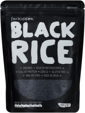FORBIDDEN FOODS BLACK RICE