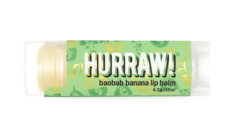HURRAW! BAOBAB BANANA LIP BALM