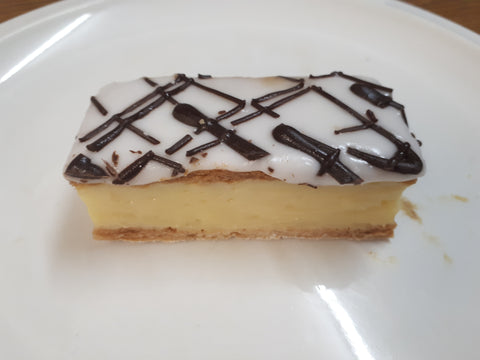 HONEY'S BAKEHOUSE VANILLA SLICE - FRIDAY DELIVERY OR PICK UP ONLY