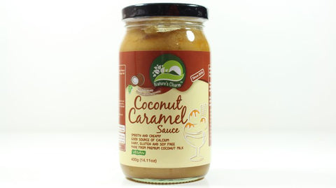 NATURE'S CHARM COCONUT CARAMEL SAUCE 400g