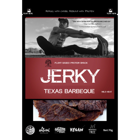 KM FOODS JERKY TEXAS BARBEQUE