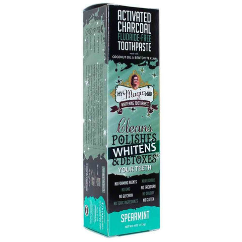 MY MAGIC MUD SPEARMINT WHITENING TOOTHPASTE