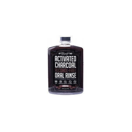 MY MAGIC MUD ACTIVATED CHARCOAL ORAL RINSE MINT