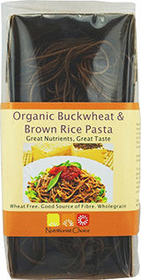 NUTRITIONIST CHOICE BUCKWHEAT & BROWN RICE PASTA