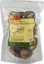 NUTRITIONIST CHOICE ORGANIC SHIITAKE MUSHROOMS