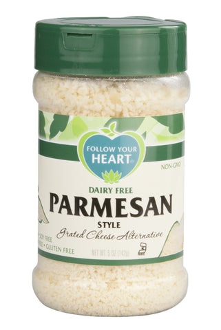 FOLLOW YOUR HEART PARMESAN CHEESE