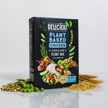 DELICIOU PLANT-BASED CHICKEN MINCE 140g