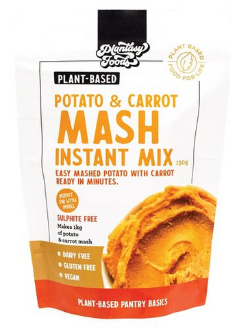 PLANTASY FOODS GF POTATO & CARROT MASH INSTANT MIX 150g