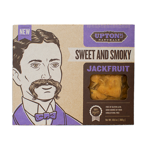 UPTON'S NATURALS SWEET AND SMOKY JACKFRUIT
