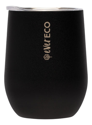 EVER ECO SMALL STAINLESS STEEL INSULATED TUMBLER - ONYX