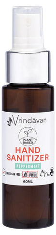 VRINDAVAN HAND SANITIZER PEPPERMINT