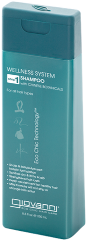GIOVANNI WELLNESS SHAMPOO WITH CHINESE BOTANICALS