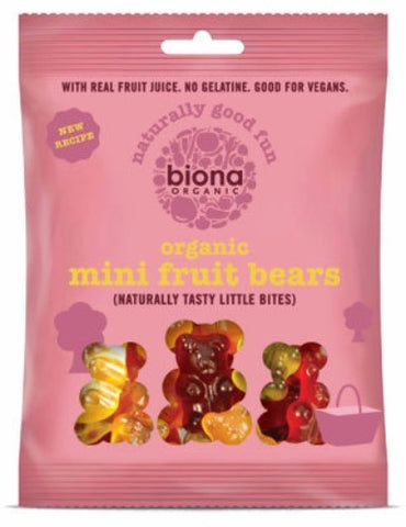 BIONA MINI FRUIT BEARS