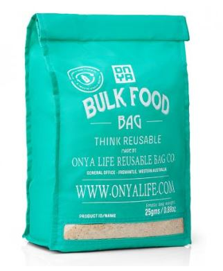 ONYA LIFE REUSABLE BULK FOOD BAG LARGE
