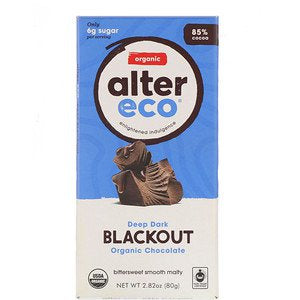 ALTER ECO DEEP DARK BLACKOUT CHOCOLATE