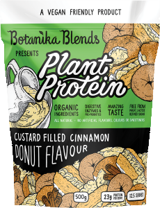 BOTANIKA BLENDS PLANT PROTEIN - CUSTARD FILLED CINNAMON DONUT FLAVOUR