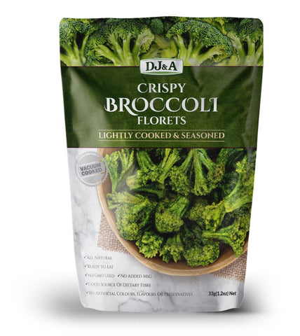 DJ&A BROCCOLI CHIPS 25g