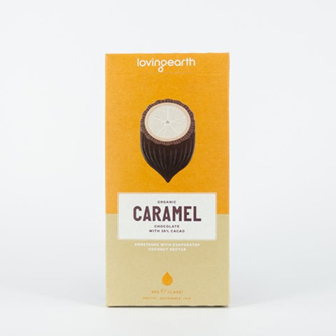 LOVING EARTH CARAMEL CHOCOLATE 80g