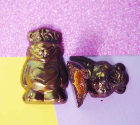 TREAT DREAMS CARAMEL FILLED BEARS 2 PACK