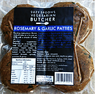SUZY SPOON'S GF ROSEMARY & GARLIC PATTIES (4pk) 400g
