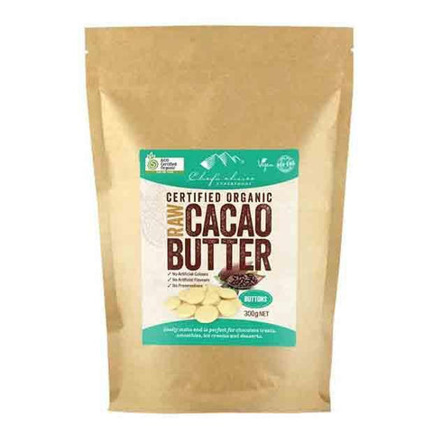 CHEF'S CHOICE CACAO BUTTER BUTTONS