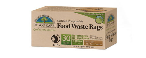 IF YOU CARE FOOD WASTE BAGS