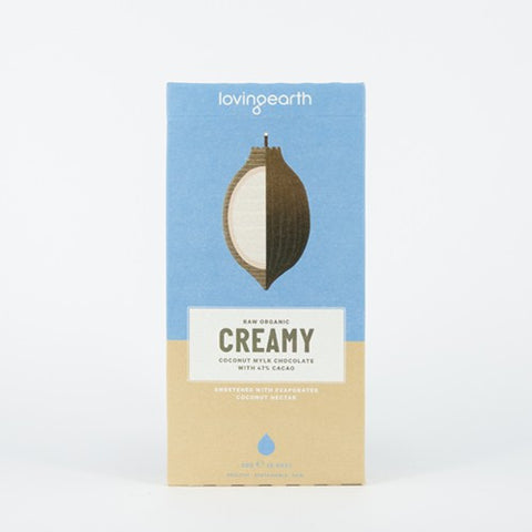 LOVING EARTH CREAMY MYLK CHOCOLATE 80g