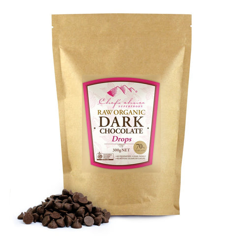 CHEF'S CHOICE DARK CHOCOLATE COUVERTURE DROPS