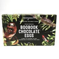 LOVING EARTH BOOBOOK FILLED CHOCOLATE EGGS