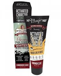 MY MAGIC MUD CINNAMON CLOVE WHITENING TOOTHPASTE