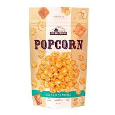 EAST BALI CASHEWS SALTED CARAMEL POPCORN