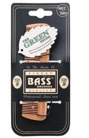 BASS BAMBOO POCKET FINE TOOTH COMB