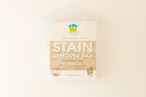 THE FAMILY HUB ALL NATURAL STAIN REMOVER BAR