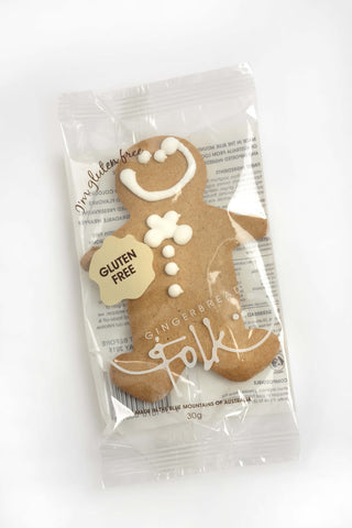 GINGERBREAD FOLK GINGERBREAD MAN GLUTEN FREE